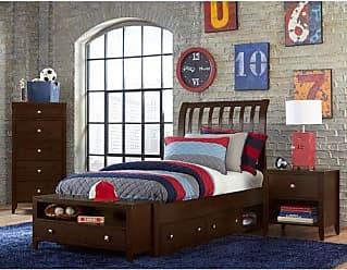 Hillsdale Furniture Hillsdale Kids and Teen 32032NS Pulse Rake Storage, Full, Chocolate Sleigh Bed