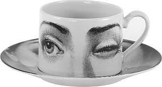 Fornasetti Tema e Variazioni 2005 Lantipatico Teacup - Black/White
