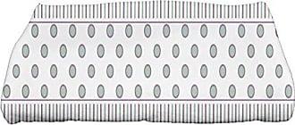 E by Design Ebydesign Comb Dot Stripe Print Bath Towel, 28 x 58, Purple