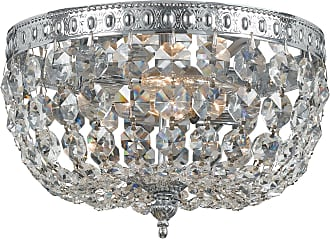 Crystorama 708-CH-CL-MWP Clear Hand Cut Crystal Basket