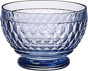 Villeroy & Boch Boston Glass Bowl Set of 4, Blue