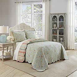 Ellery Homestyles WAVERLY Bedspread Collection, Queen, Garden Glitz