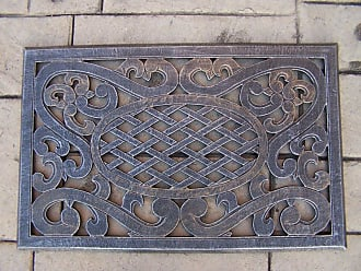 Oakland Living Mississippi Cast Aluminum Door Mat - 5089-AP