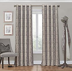 Ellery Homestyles ECLIPSE Blackout Curtains for Bedroom - Nadya 52 x 108 Insulated Darkening Single Panel Grommet Top Window Treatment Living Room, Linen