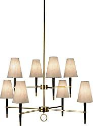 Robert Abbey Lighting Store Ventana 8 Chandelier Ventana 8 Light 43 Chandelier Ebony