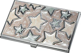 Visol Products Vidya Stars Lacquered Business Card Holder for Women