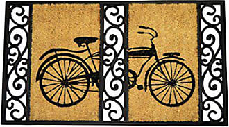 Geo Crafts G393 Tuff Coir Bi-Cycle Entry Way Doormat