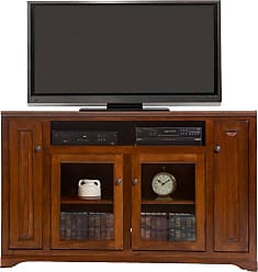 American Heartland 66 in. Poplar Tall TV Stand - Assorted Finishes - 95863EAM