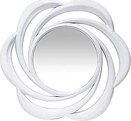 Infinity Instruments Whimsical Wall Mirror, White
