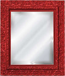 Hickory Manor House HM4028-2000 Inset Mirror/2000 Red