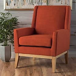 Christopher Knight Home 299402 Aurla Arm Chair, Orange
