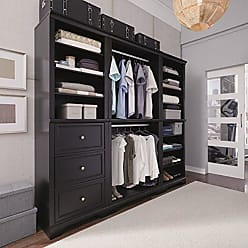 Home Styles Bedford Black 3 Piece Closet/Storage System Organizer by Home Styles