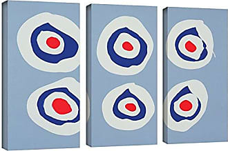 Brushstone Colin Booth Revolver, 1998 3 Piece Gallery Wrapped Canvas Set, 24X36