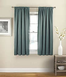 Ellery Homestyles Eclipse 15061054X063RVB 54-Inch by 63-Inch Solid Single Curtain Thermapanel, River Blue