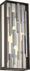 George Kovacs Bars Pocket Lantern in Bronze W/Silver