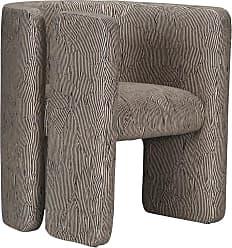 Kelly Wearstler Fairfax Chair In Avant Black/linen