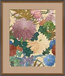 1stdibs Blue Floral I Japanese Print By Curatedkravet