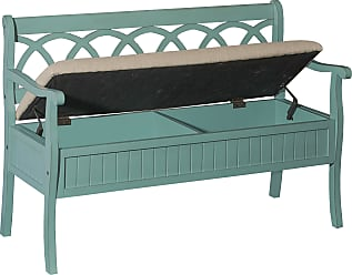 Prime Benches In Turquoise 42 Items Sale Up To 23 Stylight Beatyapartments Chair Design Images Beatyapartmentscom