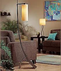 Hubbardton Forge Stasis Floor Lamp with Glass
