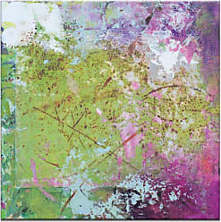 Artist Lane Pink Square 2 by Gill Cohn Wall Art - 49GC - P2631