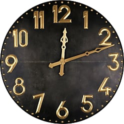 Art Maison Canada 42 in. Industrial Iron III Wall Clock - IMP7582