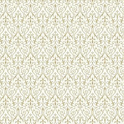 York Wallcoverings Young At Heart Pizzazz Wallpaper Gold/Beige - LK8290