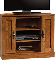 Sauder Sauder 404962 Harvest Mill Corner Entertainment Stand, For TVs up to 37, Abbey Oak finish