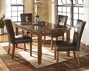 Ashley Furniture Lacey Dining Room Table, Medium Brown