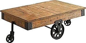 Coaster Distressed Wagon Coffee Table Rustic Brown