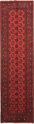 Nain Trading Afghan Akhche Rug 94x26 Runner Dark Brown/Rust (Afghanistan, Hand-Knotted, Wool)