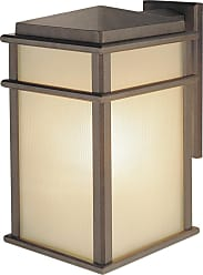 Feiss Mission Lodge Collection 9 Wall Mount Lantern in Bronze