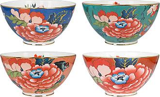 Wedgwood Paeonia Ice Cream Bowls - Set of 4