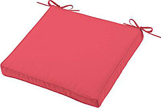 Rouge LOVELY CASA Galette Ronde Polyester 40x40 cm
