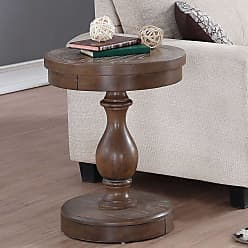 Winners Only Round Pedestal End Table - AX201EG
