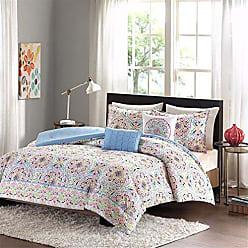 INTELLIGENT DESIGN ID10-739 Zoe Comforter Set Twin XL Multi, Twin/Twin X-Large