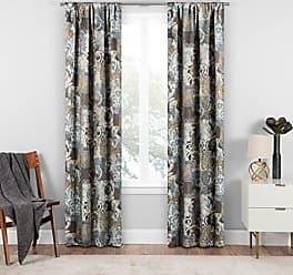 Ellery Homestyles ECLIPSE Chiswick Room Darkening Single Window Curtain, 37 x 63, Spa