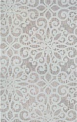 Couristan Bowery Livonia Runner Rug, 23 x 78, Sky Blue/Ivory