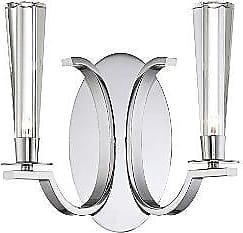 Eurofase Lighting Cromo Two Light Wall Sconce
