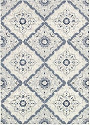 Couristan Couristan Dolce 4077/6025 Rug, 4-Feet by 5-Feet 10-Inch, Grey/Brindisi/Ivory/Confederate