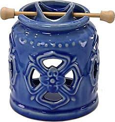Espressione Difusor Aromático de Cerâmica 11cm Azul Lirio