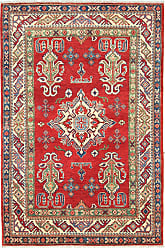 Nain Trading Kazak Rug 510x311 Brown/Pink (Afghanistan, Hand-Knotted, Wool)