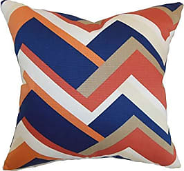 The Pillow Collection Hoonah Geometric Bedding Sham Melon Standard/20 x 26