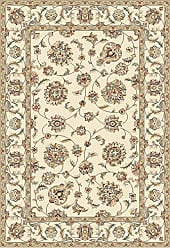 Dynamic Rugs AN1215573656464 Ancient Garden Collection Area Rug 12 x 15, Ivory