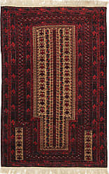 Nain Trading Oriental Baluch Rug 48x30 Beige/Brown (Wool, Afghanistan, Hand-Knotted)