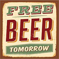 Thirstystone 4-Piece Free Beer Tomorrow Coaster Set