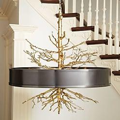 Global Views 9.91799 4 Light Pendant Bronze Indoor Lighting