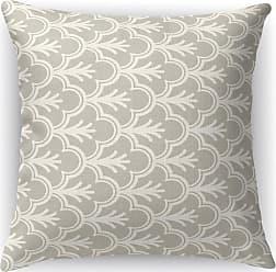 Kavka Designs Seville Accent Pillow Gray / Black - IDP-DI16-16X16-MGT2016