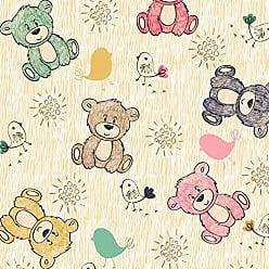 Lar Adesivos Papel de Parede Infantil Ursinhos Bebê Adesivo Ursos N4419
