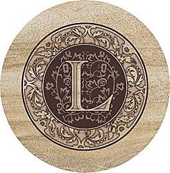 Thirstystone Sandstone Trivet Monogram L