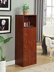 Convenience Concepts X-Tra Storage 3-Door Cabinet, Cherry